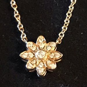 Tiffany & Co. Enchant flower necklace